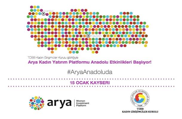 Arya Kadın Platformu, Arya Anadolu Etkinlikleri Başlıyor