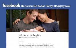 Zuckerberg Hisselerini Bağışlayacak