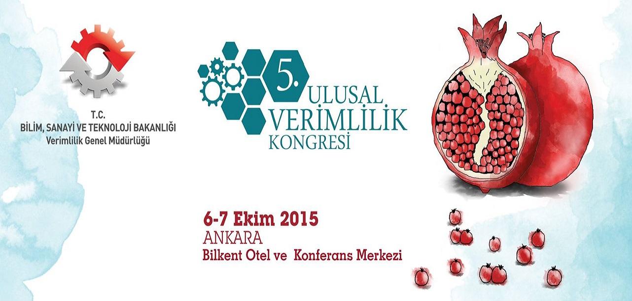 Ulusal Verimlilik Kongresi Ankara'da Başlıyor