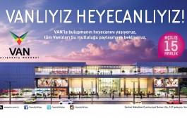 Van'ın İlk Alışveriş Merkezi 15 Aralık'ta Açılacak